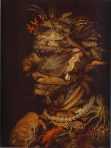 Giuseppe Arcimboldo, Water. 1566